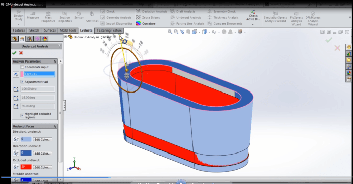 learn design mold in solidworks by videos - 50 videos 4.5hours