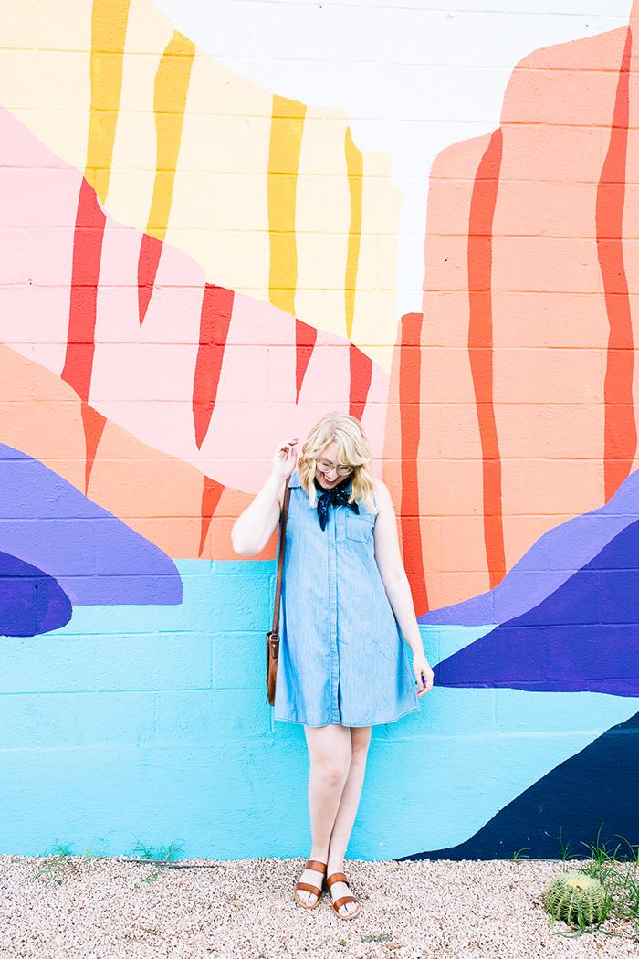 austin fashion blogger writes like a girl old navy denim dress14