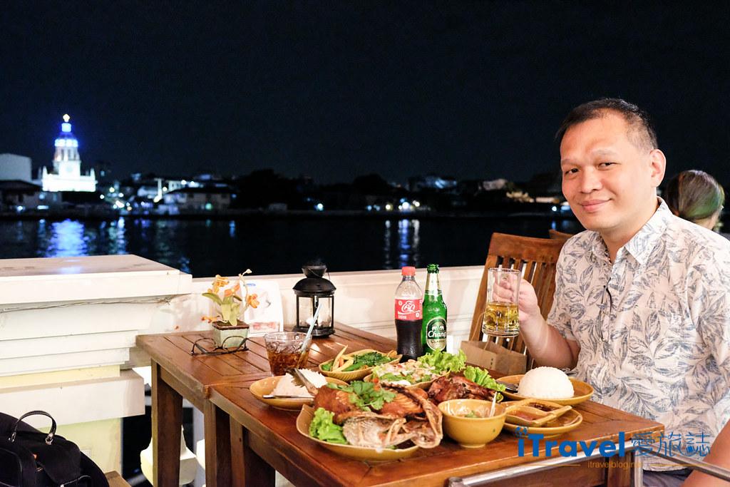 曼谷河岸美食餐厅 Larb Loi at Yodpiman River Walk (1)