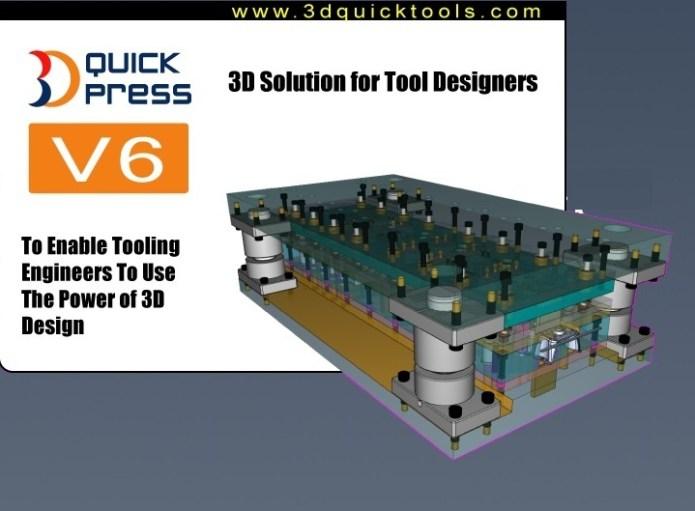 3DQuickPress v6.2.0 for SolidWorks 2011-2017 x64