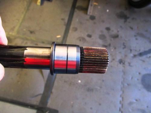 Input Shaft New Roller Bearing Inner Race Installed