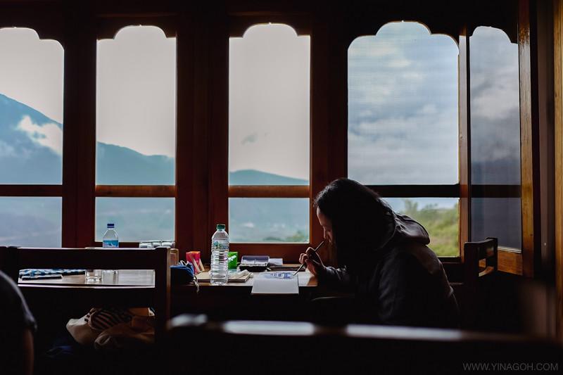 Sketch-Bhutan-Drukasia-Travel-119