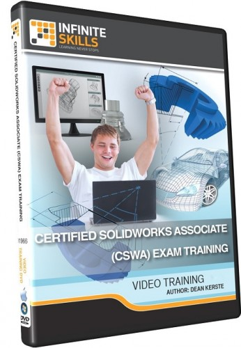 Certified SolidWorks Associate video training dvd
