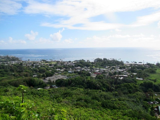 Picture from the Makua Ridge Trail
