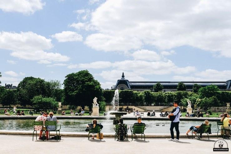 khu vườn Tuileries
