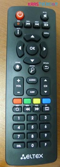 пульт управления приставкой Eltex-501 для интерактивного ТВ ТТК