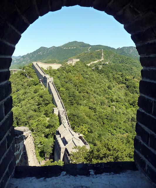 3b. Great Wall at Mutianyu