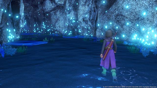 幻想的な洞窟