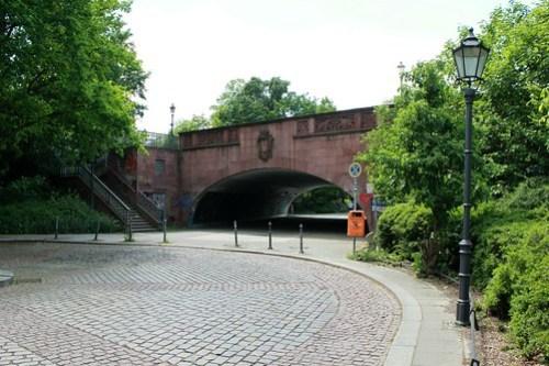 An der Lessingbrücke