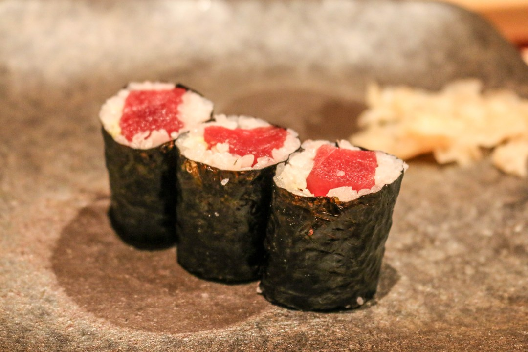 Tuna maki sushi