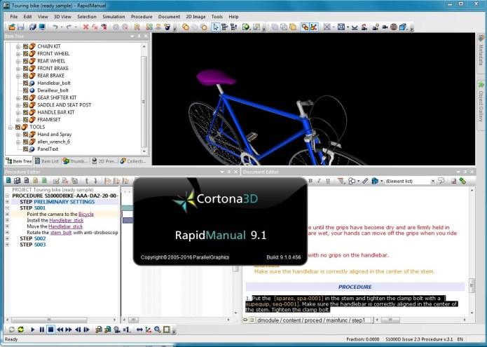 Parallel Graphics Cortona3D Rapidmanual 9.1 32bit 64bit full crack