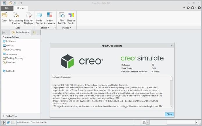 PTC Creo Simulate 4.0 64bit full crack