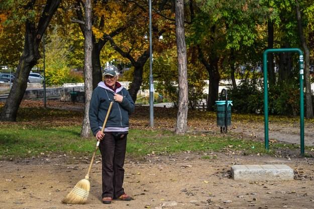 City Park Employee