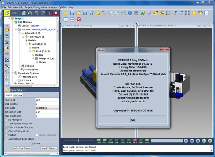 CGTech Vericut 7.3.3 x86+x64