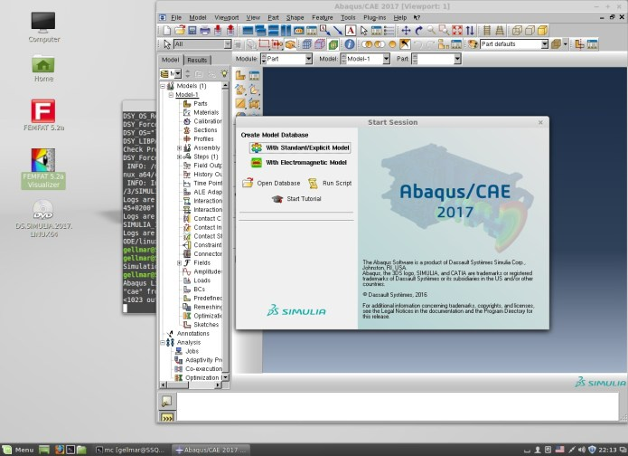 works with DS SIMULIA Suite Abaqus Isight Fe-safe Tosca 2017
