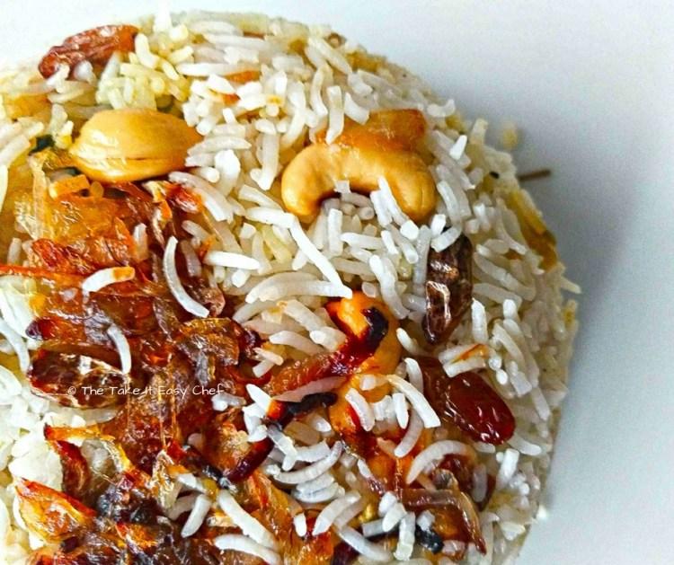 Thalassery Biriyani is served