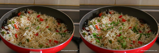 garlic chilli fried rice 6