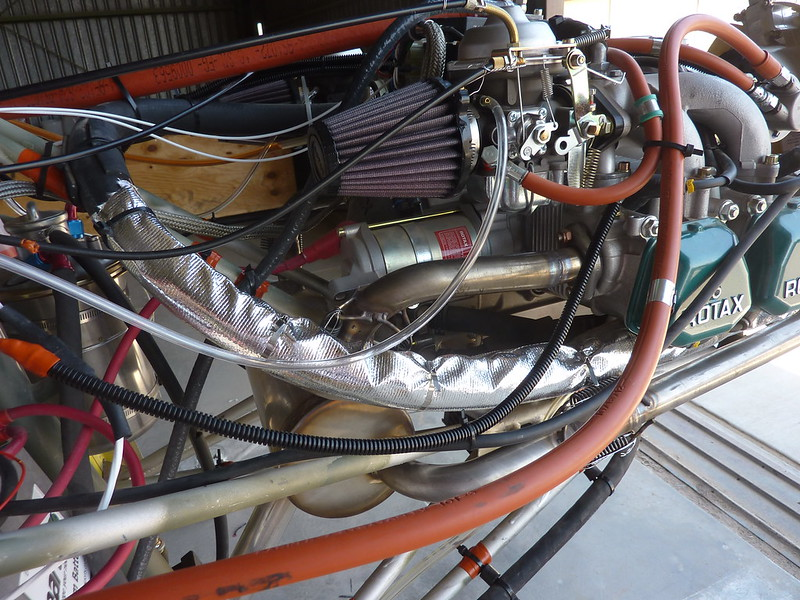 Thermo wrap on coolant hose