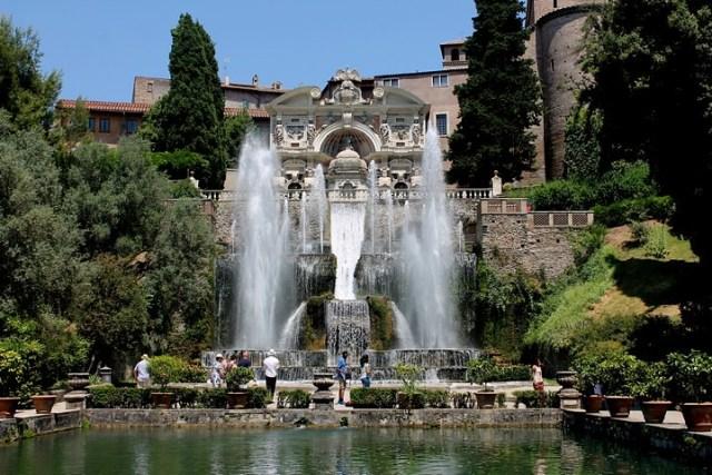 Villa de Este de Tívoli. Visita a los jardines más bellos de Italia.