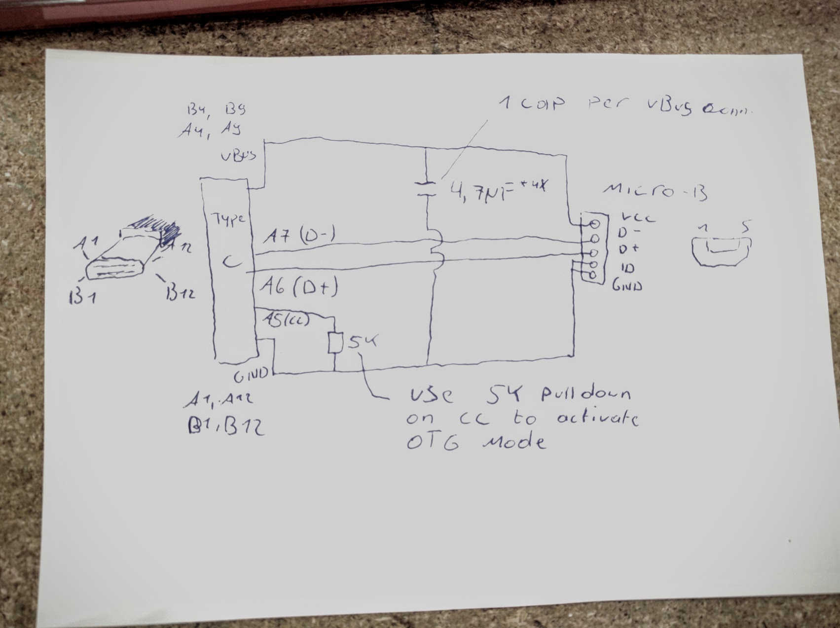 micro usb type b wiring diagram rip current c library