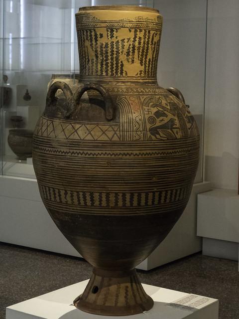 Boeotian Pottery – Boeotian Pithos-Amphora