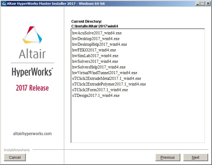 Altair HyperWorks 2017.0.0.24 Suite win64 full