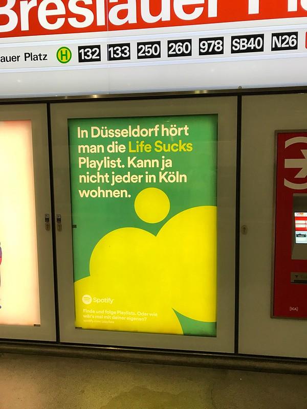 Werbung Spotify Köln 2
