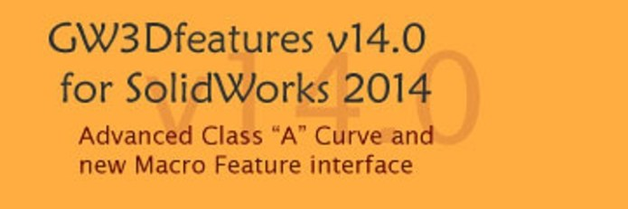 GeometryWorks 3D Features V14.0 for SolidWorks 2014 32bit 64bit