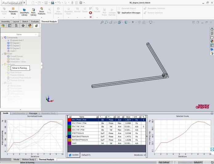 working with Mentor Graphics FloTHERM XT v3.0 64bit full crack