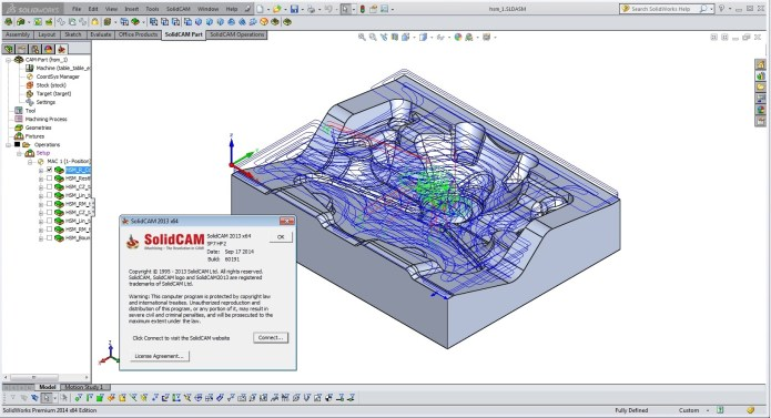 Programming with SolidCAM 2013 SP7 HF2 Multilanguage for SolidWorks 2012-2015 x86 x64
