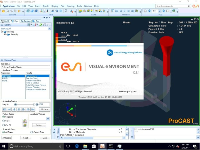 Working with Visual-Environment v2016.1