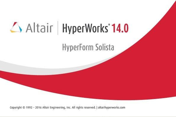 Altair HyperForm Solista 14.0 x64
