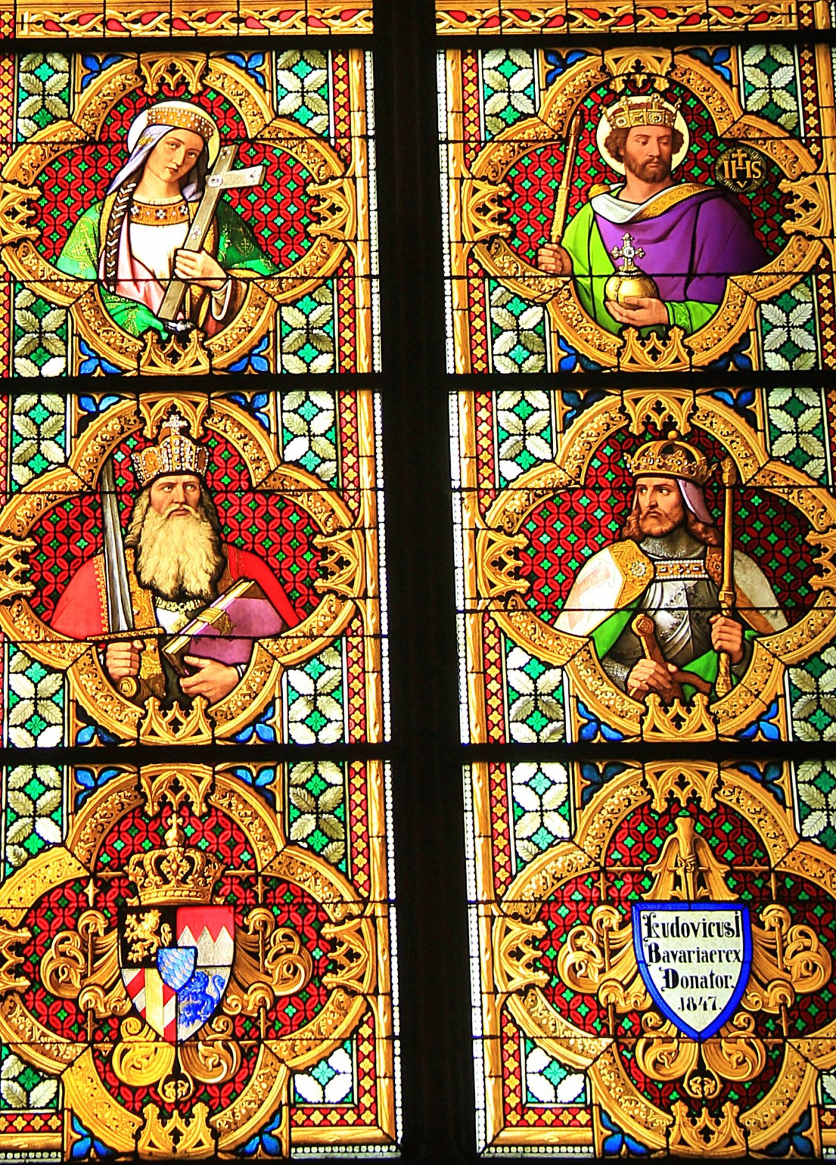 Beautiful iconography at Cologne Cathedral