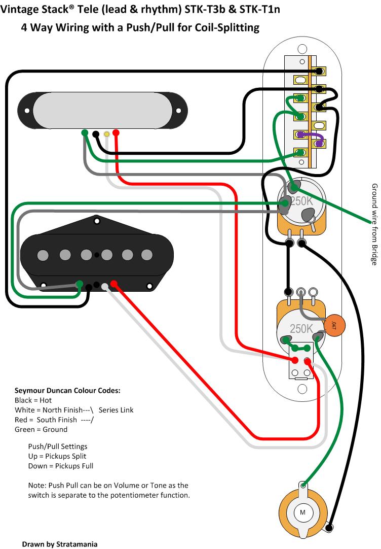 medium resolution of tele wiring by stratamania on flickr