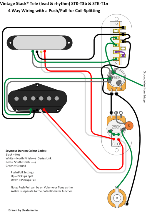 small resolution of tele wiring by stratamania on flickr