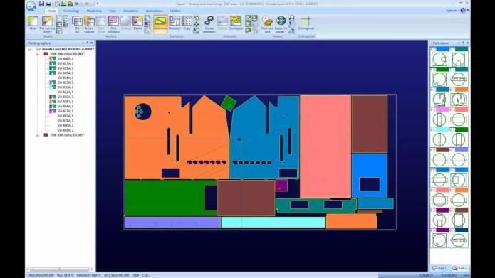 Working with Lantek v27 - sheet metal solution