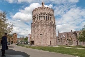 Op de terugweg pakte ik nog even de Mother See of Holy Etchmiadzin kathedraal mee.