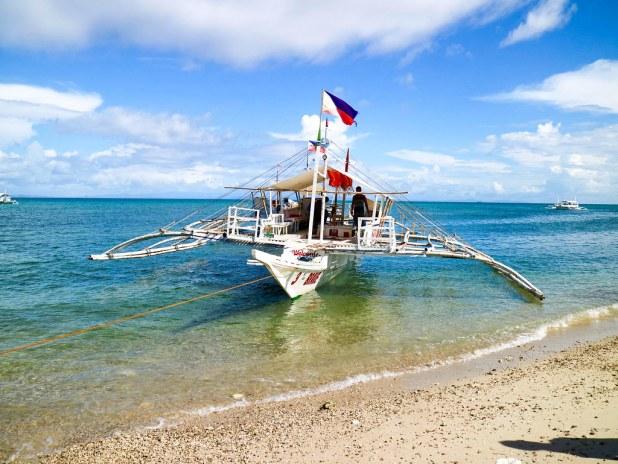 Barco Maya a Malapascua