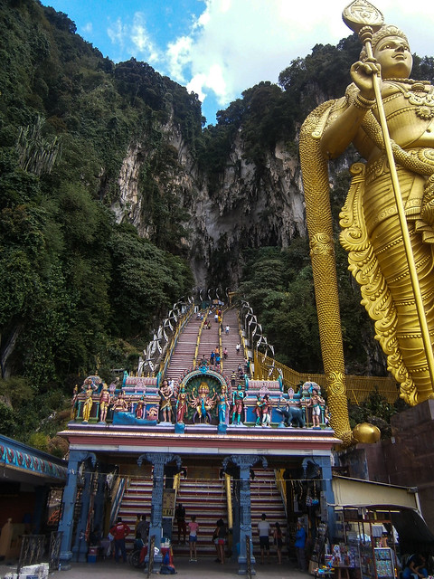 Batu Caves Stair Entry