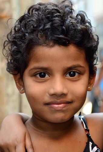 India - Maharashtra - Mumbai - Dharavi Slum - Young Girl - 44