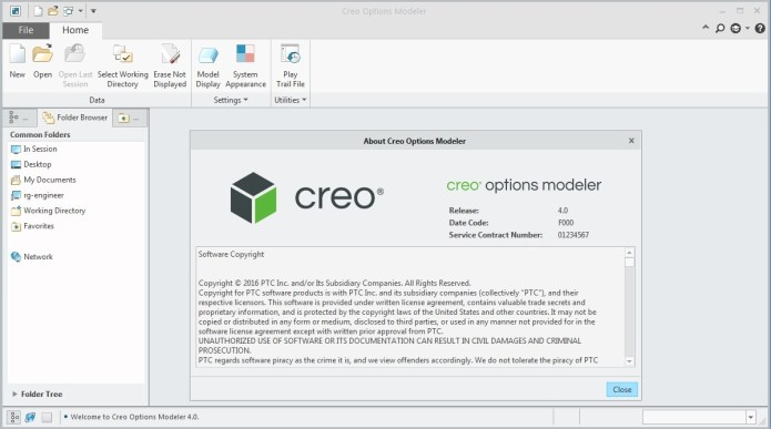 PTC Creo Modeler 4.0 full license