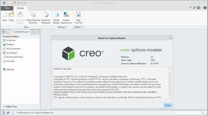 PTC Creo Modeler 4.0 full license