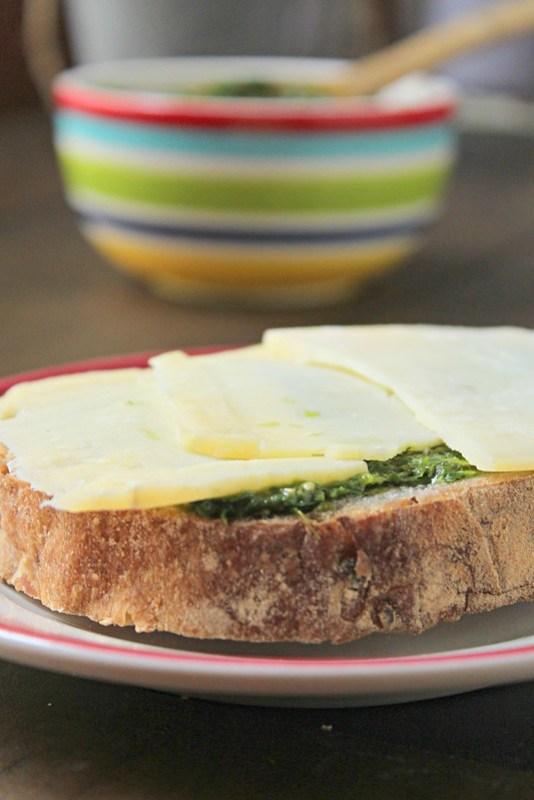 Pesto Sandwich -edit