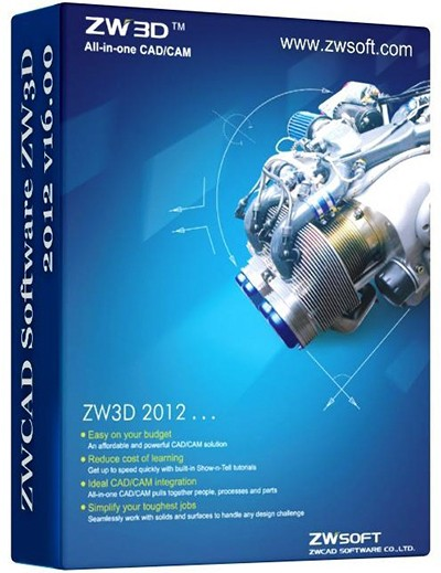 ZWCAD Software ZW3D 2012 v.16.00 full software