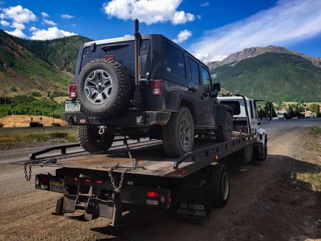 Broken Jeep