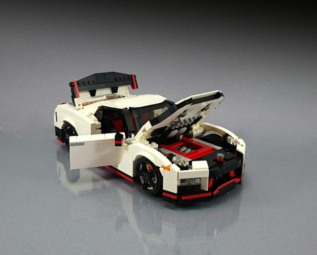2019 Nissan Z Car >> LEGO on the fast track with a Nissan GT-R Nismo | The Brothers Brick | The Brothers Brick