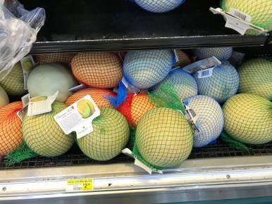 Am I the only one that finds these melons oddly erotic?