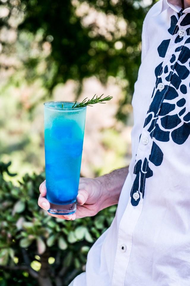 the blue glacier cocktail