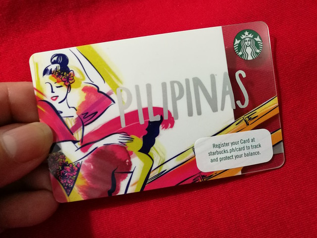 2017 Piipinas Starbucks card