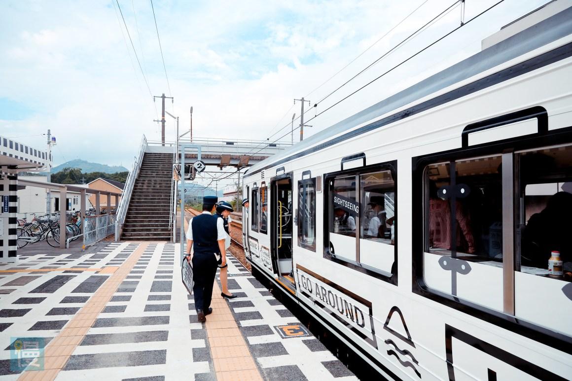 岡山出發文青藝術風的JR觀光列車 2016-264
